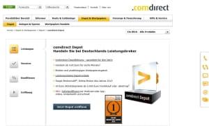 Comdirect Aktien übertragen