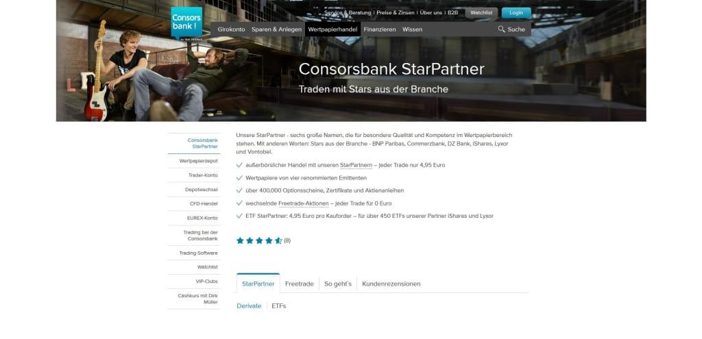 aktien gebühren consorsbank