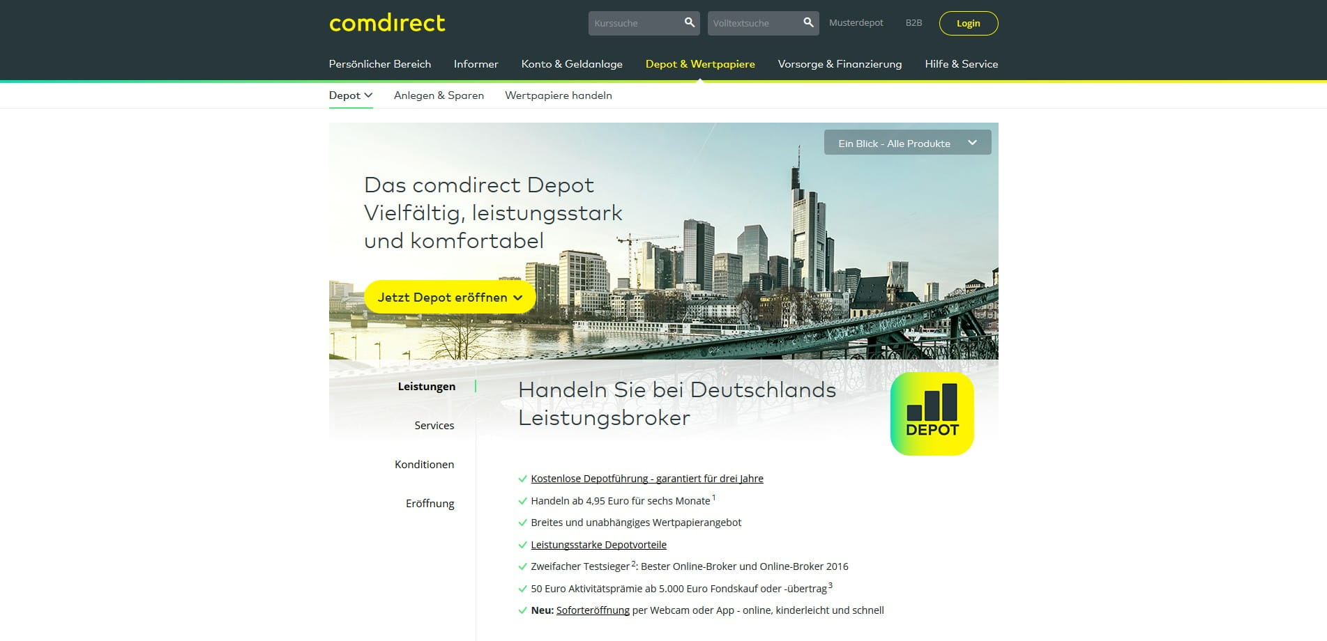 Comdirect Erweitert Trading Portal Um Shoppingseite Aktien Depotde