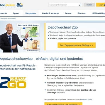 1822direkt 100 euro