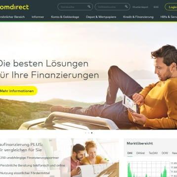 Online Broker Comdirect wirbt in aktueller Aktion bis 03. März 2017 mit bis zu 100 Euro Geldprämie