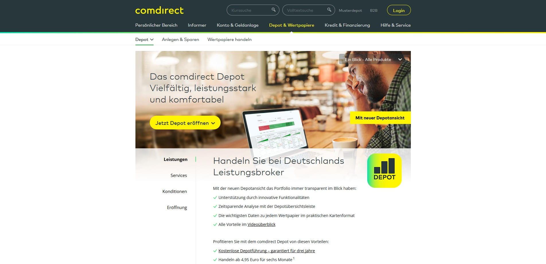 Comdirect DepotgebГјhren