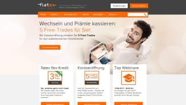 Onlinebroker flatex bietet Neukunden zur Depoteröffnung 5 Freetrades