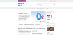 OnVista Bank FreeBuy Aktion