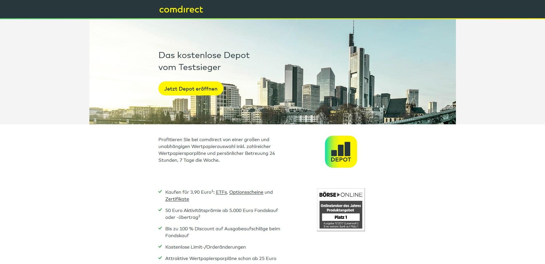 Fest Und Fonds Comdirect