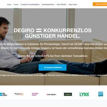 Broker DEGIRO wirbt mit besonders günstigen Handelskonditionen – Trading ab 2,50 Euro